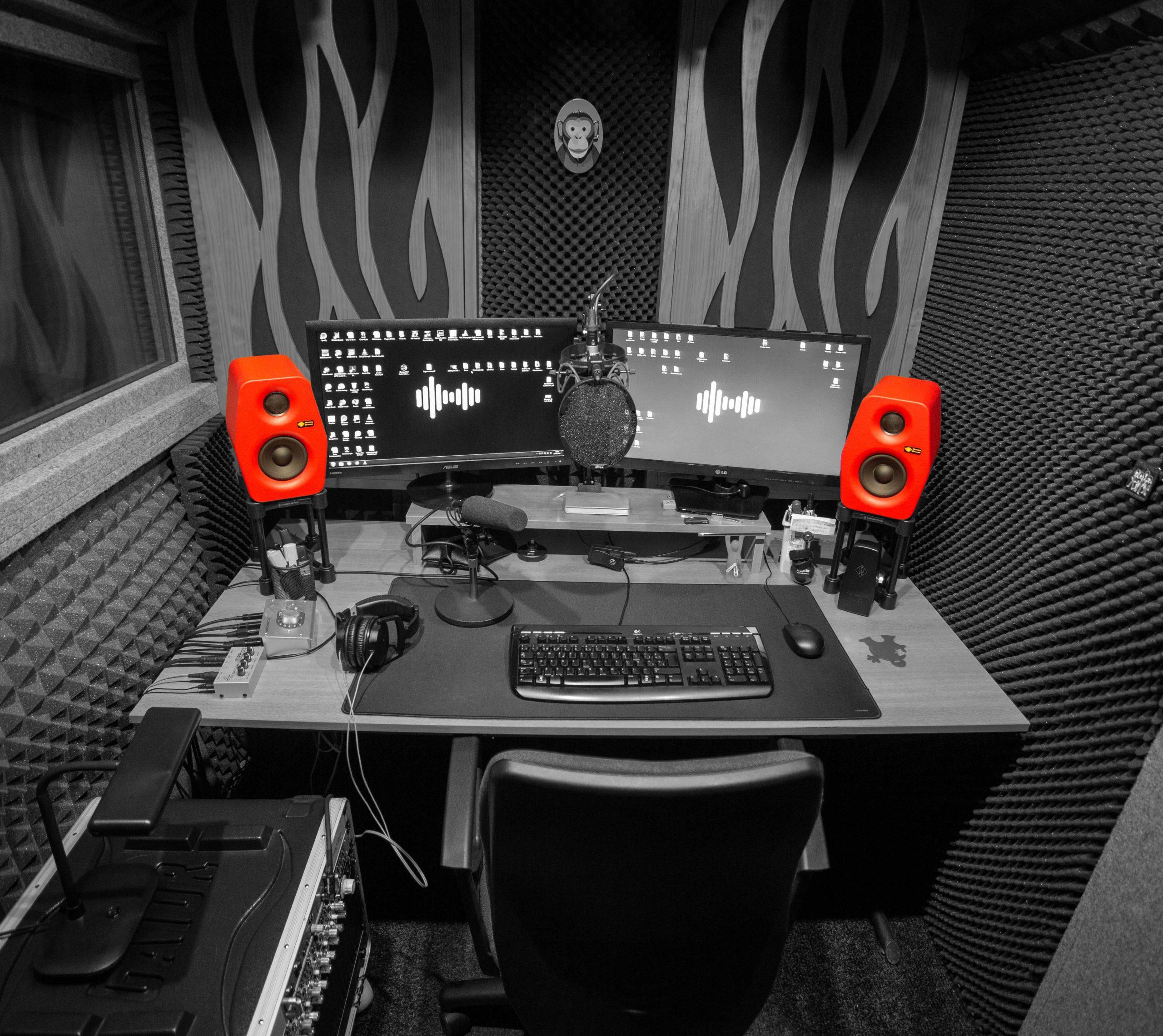 estudio de grabacion Ricky Delgado